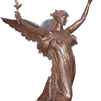 Statue at Brooks